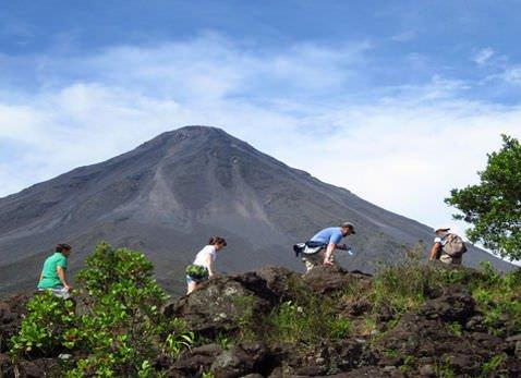 Arenal COMBO Tour Arenal Volcano Hike Slide 2 - Arenal Volcano & Hotsprings Tour!