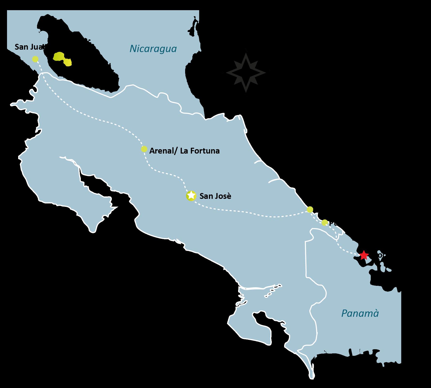 Bocas del Toro Map - BOCAS DEL TORO