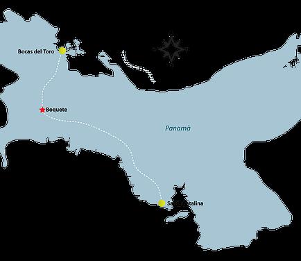 Boquete Map - BOQUETE