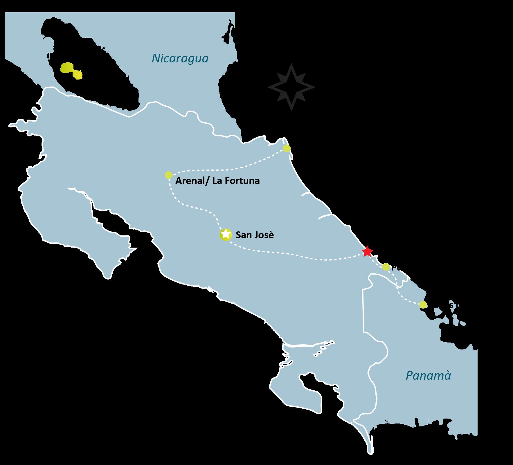 Cahuita Map - CAHUITA