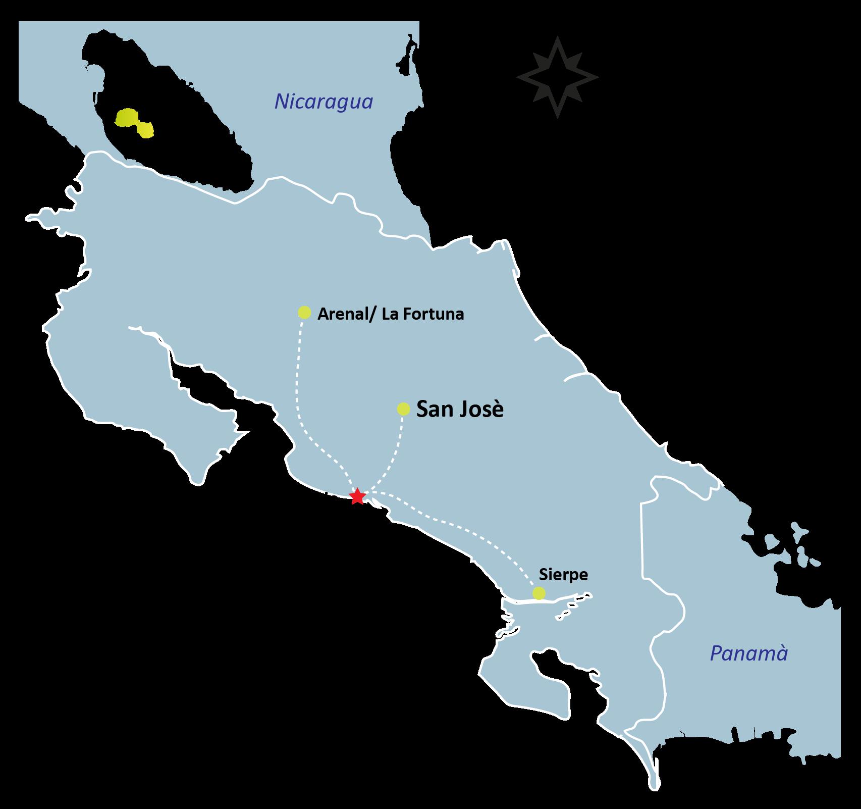 Manuel Antonio Map - MANUEL ANTONIO