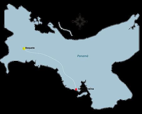 Santa Catalina Map - SANTA CATALINA