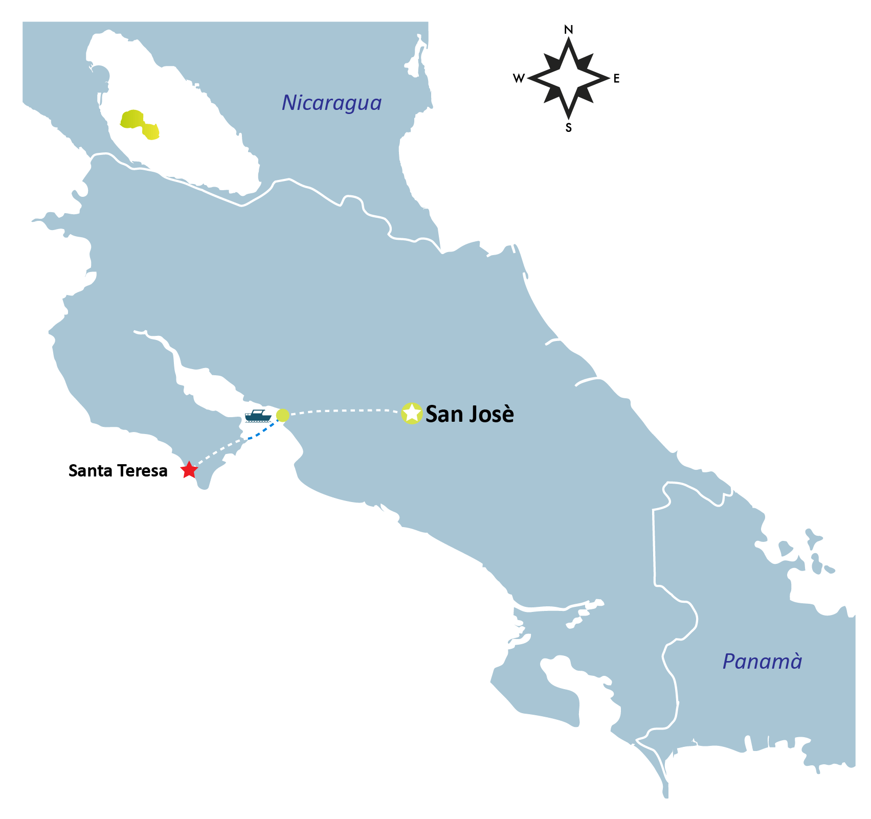 Santa Teresa Map - SANTA TERESA