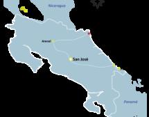 Tortuguero Map