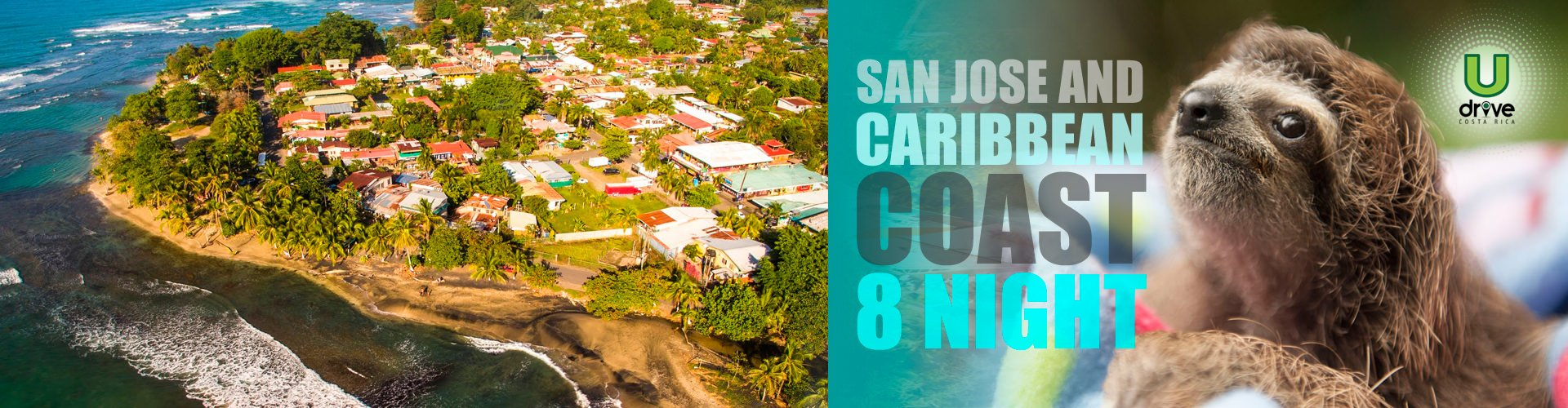San Jose and Caribbean Coast 8 Night