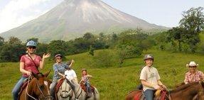 Horseback Ride to La Fortuna - Arenal - La Fortuna