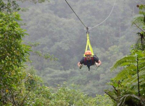 Parque San Luis 01 - Canopy & Zipline at Parque de Aventura San Luis