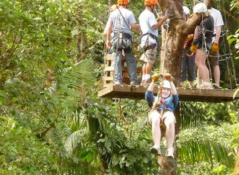 Parque San Luis 03 - Canopy & Zipline at Parque de Aventura San Luis