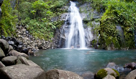 CL Uatsi Waterfall - Caribbean Cultural & Learning