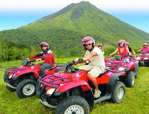Arenal ATV A - Arenal ATV Tour - Single Rider