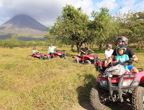 Arenal ATV C - Arenal ATV Tour - Single Rider
