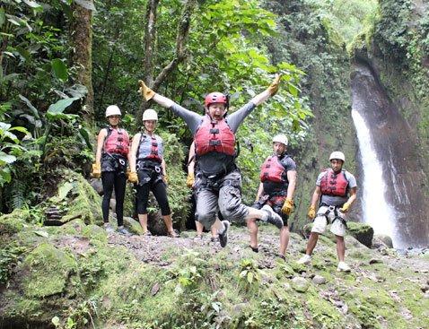 Gravity A - Gravity Falls Waterfall Jumping
