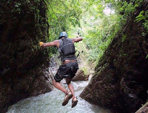 Gravity C - Gravity Falls Waterfall Jumping