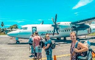 Domestic Flight from Panama City to Isla Colon