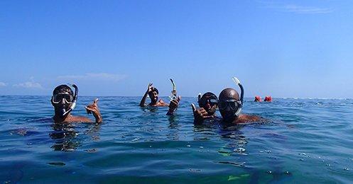 CFT Cahuita Boat Snorkel Hiking Trip - Caribbean Tours