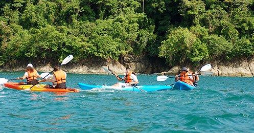 CFT Manuel Antonio Ocean Kayak - Pacific Coast Tours