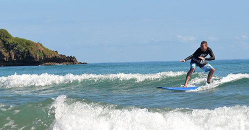 CFT Surf Lessons - Caribbean Tours
