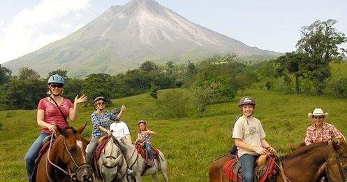 CFT Horseback Ride - Arenal / Monteverde