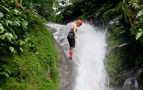 Adventure Waterfall - Caribe Scenic Flights