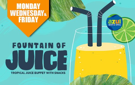 Fountain Juice - Caribbean Tours