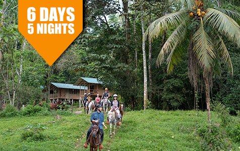 Caribbean Rain Forest Beach Adventure SB - Costa Rica Vacation Packages